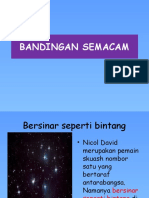 BANDINGAN SEMACAM2