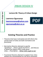 Urban Design_lecture_06_theory of Urban Design