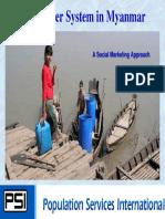 Safe Water in Myanmar