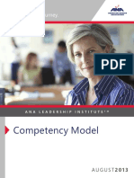 ANA LeadershipInstitute CompetencyModelBrochure
