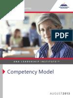 ANA LeadershipInstitute CompetencyModelBrochure