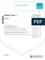 English Stage 5