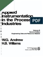 Applied Instrumentation in Process Industries Vol 3