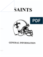 1995 New Orleans Saints Offense