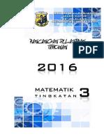 2016 Rancangan Tahunan T3 Matematik HP