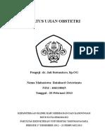 Case Rainhard (Nifas Post Sc)