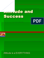 Attitude and Sucess