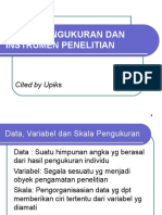 Data, Variabel Dan Skala Pengukuran
