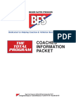 Coaches Info Packet