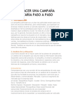 COMO HACER UNA CAMPAÑA PUBLICITARIA PASO APASO