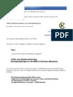 Newsletter Klein Klein 4-4-2010 Video Doku Zur Zwangsimpfung in Bautzen Karl Krafeld