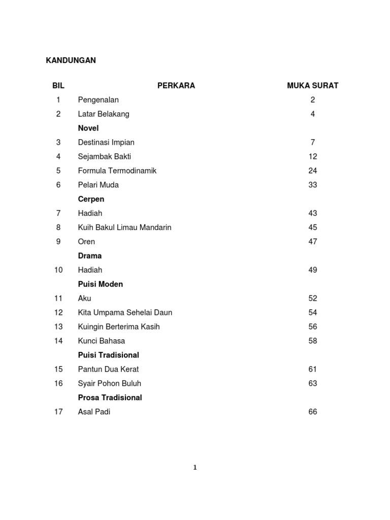 Contoh Soalan Karangan Bm Tingkatan 1 - Soalan j