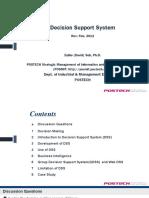 Fundamentals of DSS