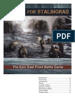 Stalingrad Rulebook