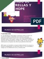 Mundo de Estrellas y Fundación Hope