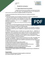 TD  2 IS Appr+_ciation fiscale des produits