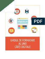Ghidul de Formatare Al Unei Carti Digitale