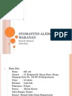 Stomatitis Alergika e