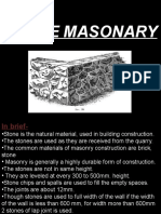 Stone Masonary