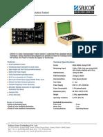 Pam Modulation and Demodulation Trainer St8103