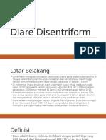 PPT Disentriform Diare