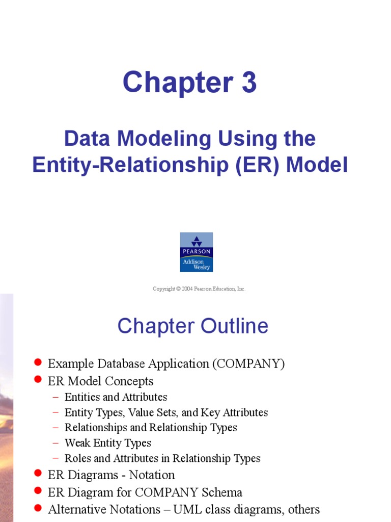 Chapter 3 erd conceptual model data model biocorpaavc