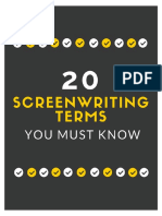 20 Screenwriting Terms You Must Know