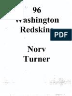 1996 Washington Redskins Offense