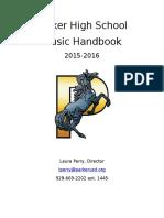 phs music handbook