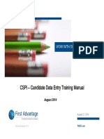 CSPi Training Manual
