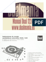Manual Dual 1224 Español