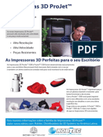 Impressora 3D Projet 1500