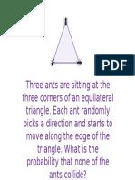 Ant Probability