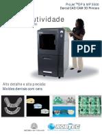 Impressora 3D Projet 3500