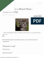 Pocket_ Mi Recuerdo a Rene Char - Rene Char
