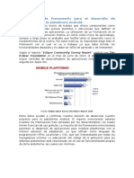 Comparacion de Frameworks