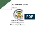 sistema control temperatura
