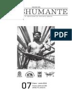 Portadilla y página legal No. 7 Revista Trashumante