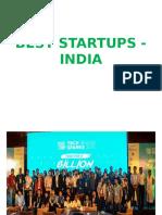 Best Startups - India