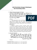 Hadist Tentang Bimbingan Dan Konseling Islam