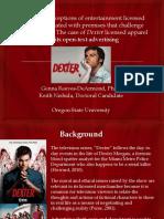 dexter pca2013 oral presentation final draft