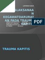 Slide Lapkas Trauma Kapitis