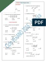 Algebra 2016 - II