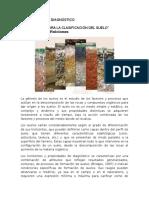 Investigación Edafología - Horizontes de Diagnóstico
