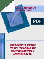 tiposdetrabajoscientificos-101027131114-phpapp02