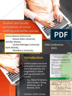perceptions of online courses - itaa 2015 - oral presentation