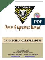 Gas Mechanical Spreader Unit Manual