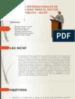 NORMAS INTERNACIONALES DE CONTABILIDAD PARA EL SECTOR PUBLICO - NICSP (1).pptx