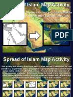 spread of islam map activity pdf