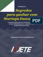 Segredos para ganhar com Startups Inovadoras